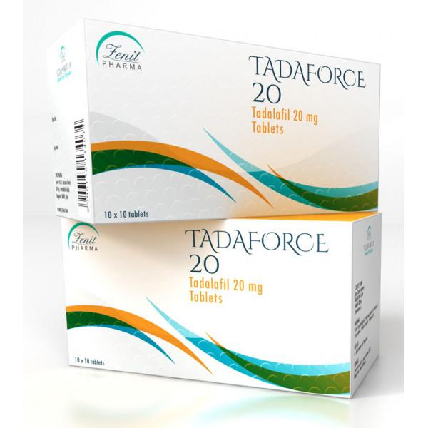 Tadaforce 20 mg - 1 strip á 10 pillen